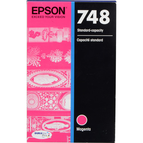 Epson 748 Standard-Capacity Magenta Ink Cartridge