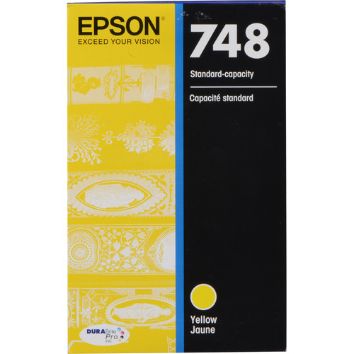 Epson 748 Standard-Capacity Yellow Ink Cartridge