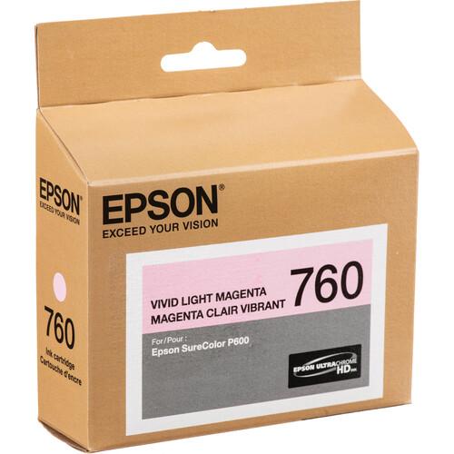 Epson T760 Vivid Light Magenta Ultrachrome HD Ink Cartridge