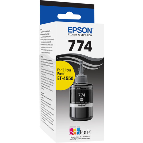 Epson T774 Black Ink Bottle (140mL)