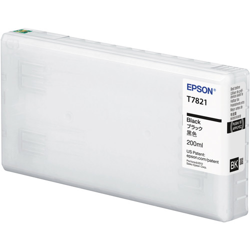Epson UltraChrome D6-S Black Ink Cartridge