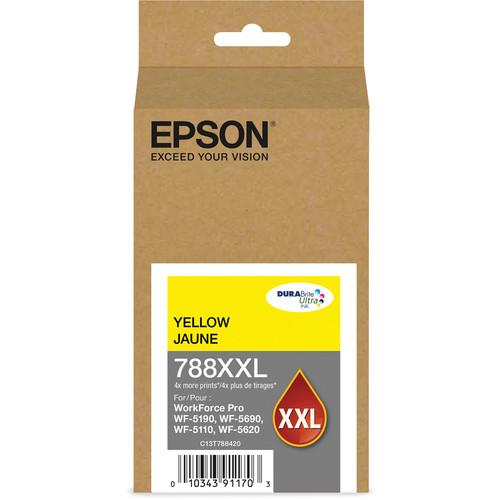 Epson T788XXL Extra High-Capacity DURABrite Ultra Yellow Ink Cartridge