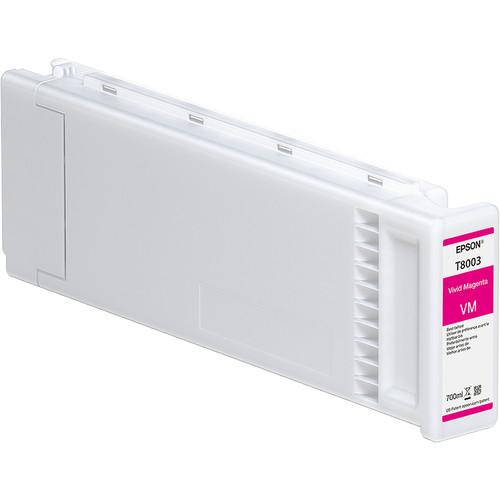 Epson T800300 UltraChrome PRO Vivid Magenta Ink Cartridge (700mL)