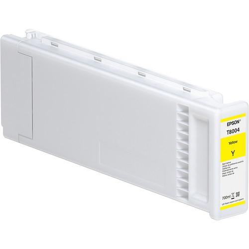 Epson T800400 UltraChrome PRO Yellow Ink Cartridge (700mL, 4-Pack)