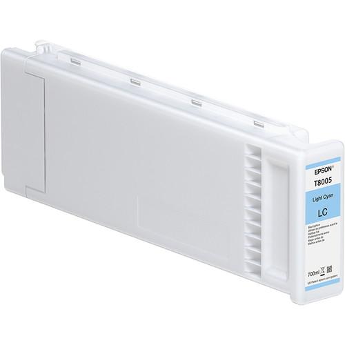 Epson T800500 UltraChrome PRO Light Cyan Ink Cartridge (700mL, 4-Pack)