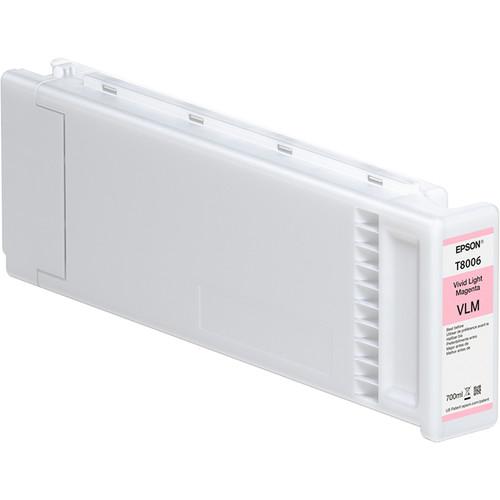 Epson T800600 UltraChrome PRO Vivid Light Magenta Ink Cartridge (700mL, 4-Pack)