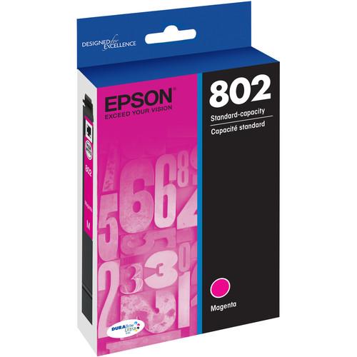 Epson 802 Magenta DURABrite Ultra Standard-Capacity Ink Cartridge