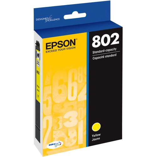 Epson 802 Yellow DURABrite Ultra Standard-Capacity Ink Cartridge