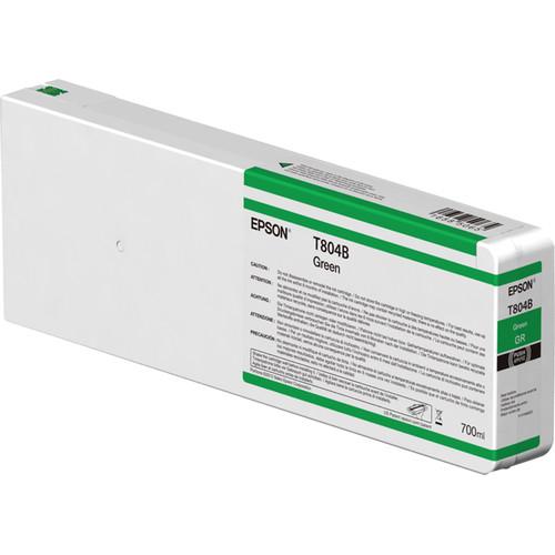 Epson T804B00 UltraChrome HDX Green Ink Cartridge (700ml)