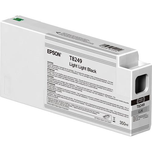 Epson T824900 UltraChrome HD Light Light Black Ink Cartridge (350ml)