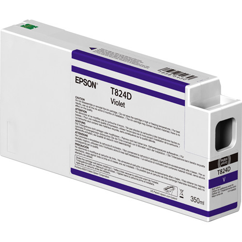 Epson T824D00 UltraChrome HDX Violet Ink Cartridge (350ml)