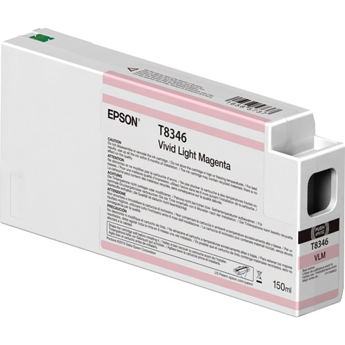 Epson T834600 UltraChrome HD Vivid Light Magenta Ink Cartridge (150ml)
