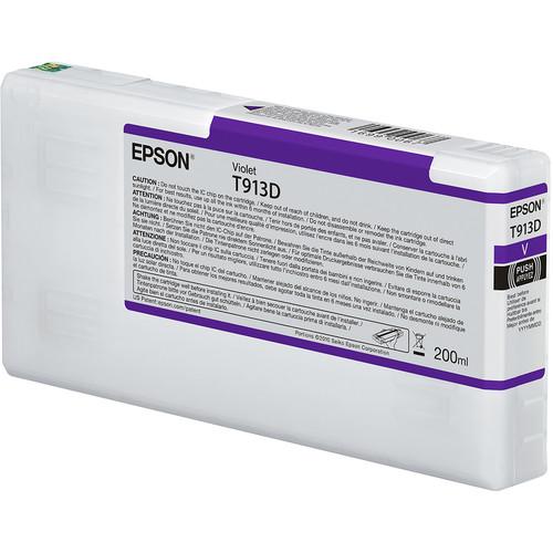 Epson T913D UltraChrome HDX Violet Ink Cartridge (200 mL)