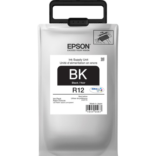 Epson R12 DURABrite Ultra Standard-Capacity Black Ink Pack