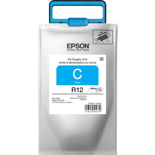 Epson R12 DURABrite Ultra Standard-Capacity Cyan Ink Pack