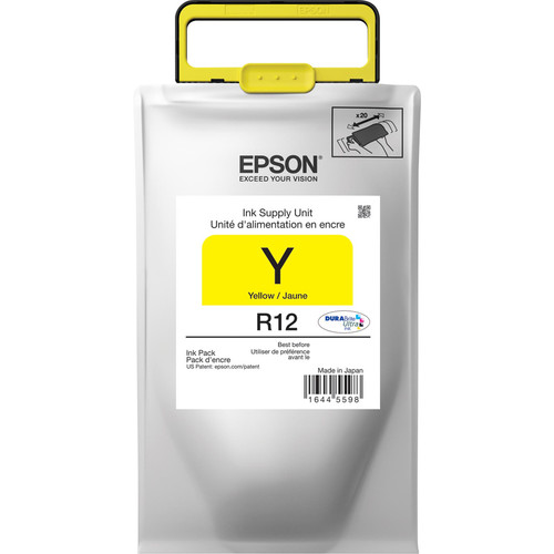 Epson R12 DURABrite Ultra Standard-Capacity Yellow Ink Pack