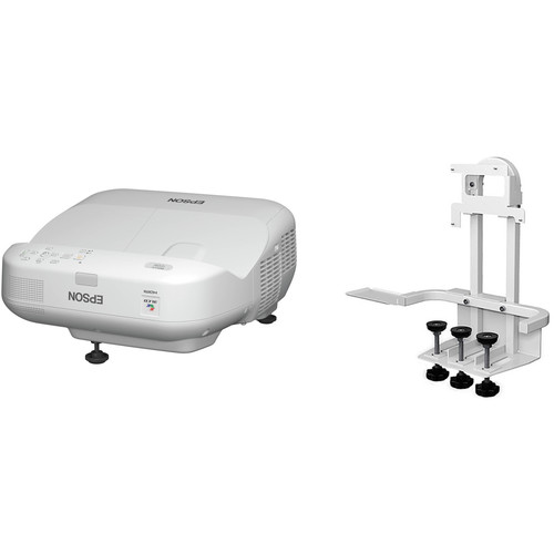 Epson BrightLink Pro 1410Wi Interactive Projector with Table Mount Kit