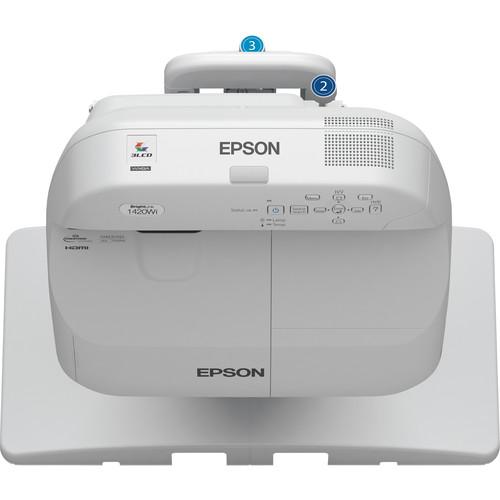 Epson BrightLink Pro 1420Wi Interactive WXGA 3LCD Projector