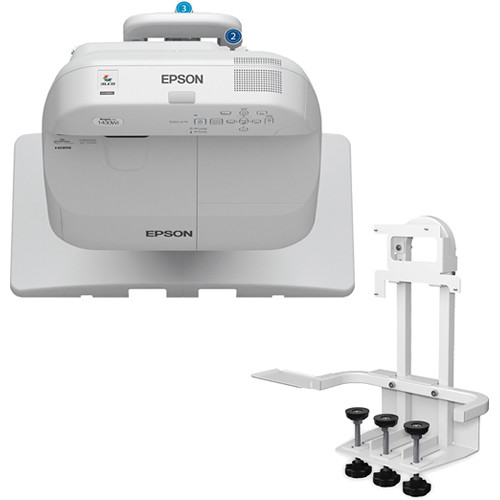 Epson BrightLink Pro 1430Wi Interactive WXGA 3LCD Projector with Table Mount