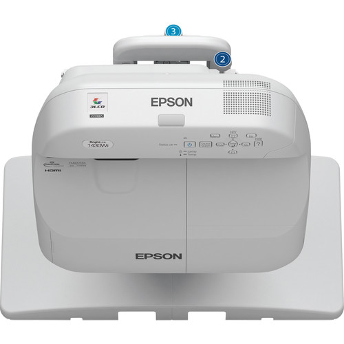 Epson BrightLink Pro 1430Wi Interactive Projector and Ultra-Short Throw Wall Mount Kit