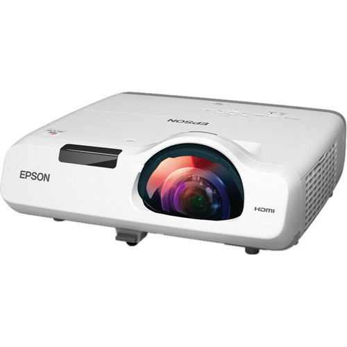 Epson PowerLite 530 3200-Lumen XGA Short Throw 3LCD Projector