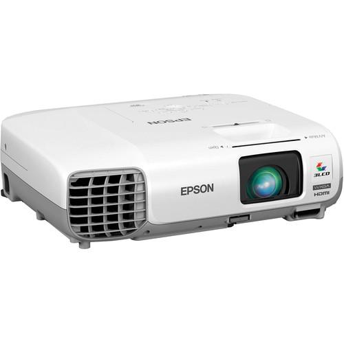 Epson PowerLite W29 3000 Lumen WXGA 3LCD Multimedia Projector