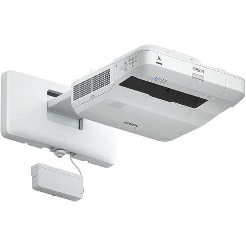 Epson BrightLink Pro 1450Ui 3800L WUXGA Ultra-Short Throw 3LCD Projector with Wall Mount