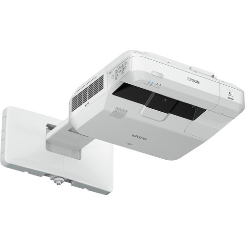 Epson PowerLite 700U Ultra-Short Throw 3LCD WUXGA Laser Projector with Wall Mount