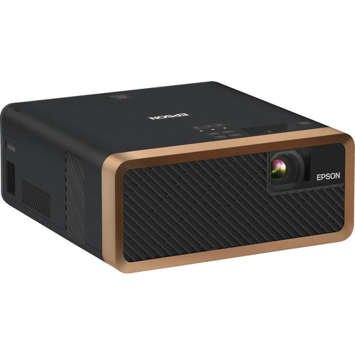 Epson EF-100 Home Theater Laser 3LCD Projector with Android TV Wireless Adapter (Black)