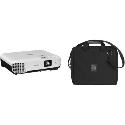 Epson VS250 3200-Lumen SVGA 3LCD Projector and Case Kit