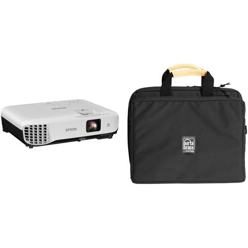 Epson VS350 3300-Lumen XGA 3LCD Projector and Case Kit