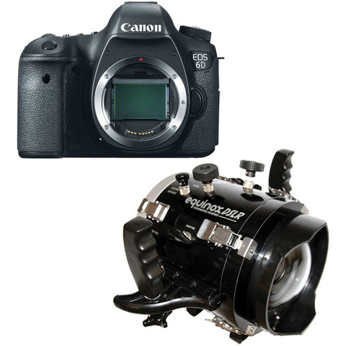 Equinox Underwater Housing with Canon EOS 6D DSLR Camera Body Kit