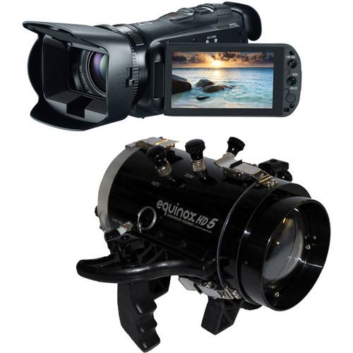 Equinox HD5 Underwater Housing with Canon 32GB VIXIA HF G20 Full HD Camcorder Kit