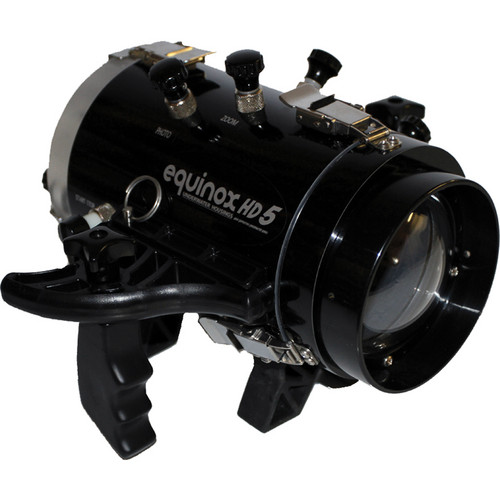 Equinox HD5 Underwater Housing for Sony HDR-CX200 Camcorder