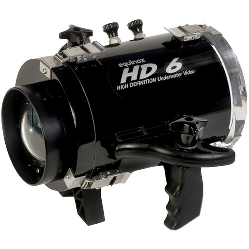 Equinox HD6 High Definition Underwater Video Housing for Canon VIXIA HF M500 Camcorder