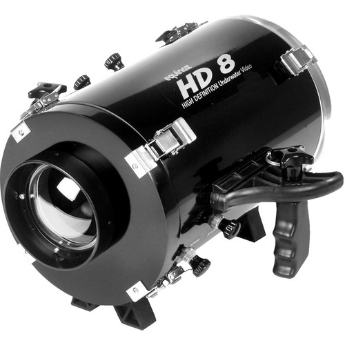 Equinox HD8 Underwater Housing for Sony NEX-VG20 Camcorder and E-Mount 16mm f/2.8 Lens