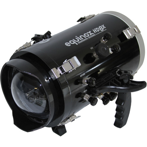 Equinox HD8X Underwater Housing for JVC GY-HM150U Camcorder