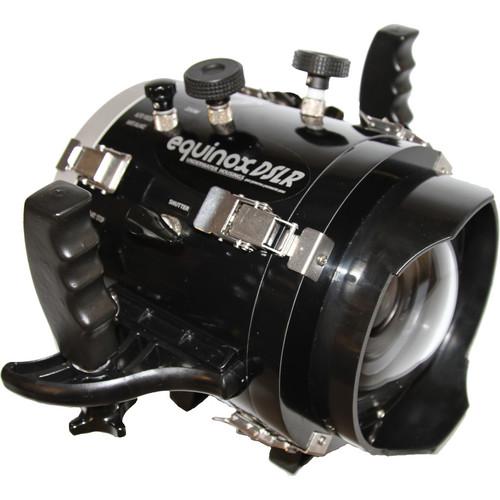 Equinox HDDSLR Underwater Housing for Canon EOS 6D DSLR Camera (Black)