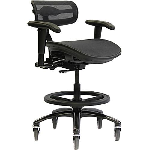 ErgoLab Stealth Pro Chair (Black, Large Seat)