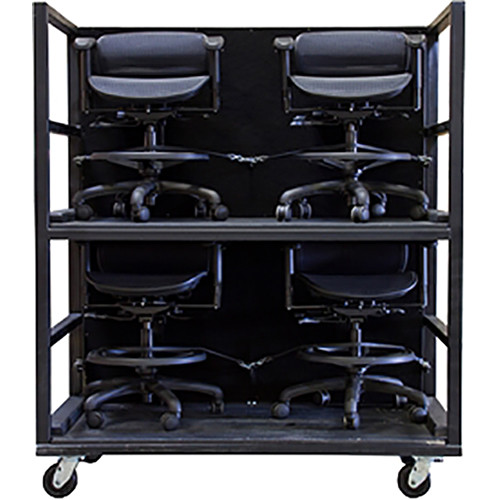 ErgoLab Stealth Volvo Cart Package with Four Standard Stealth Chairs