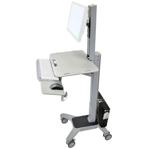 Ergotron WorkFit-C Single LD Sit-Stand Mobile Workstation