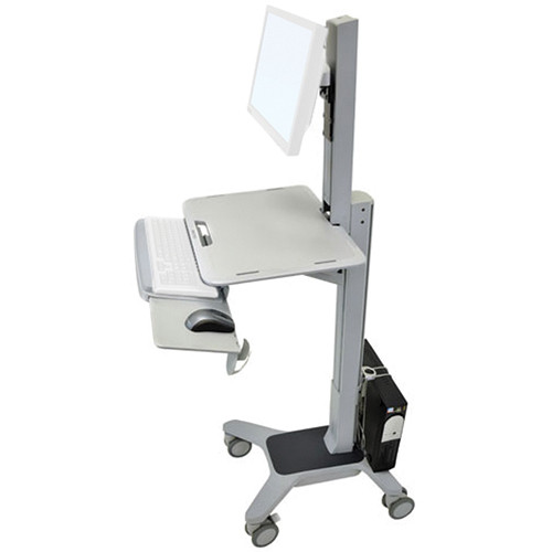 Ergotron WorkFit-C Single LD Sit-Stand Mobile Workstation