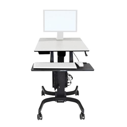 Ergotron WorkFit-C Single HD Sit-Stand Workstation (Black)