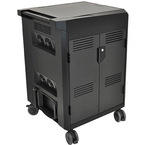 Ergotron PowerShuttle Laptop Management Cart (Black)
