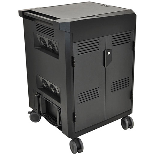 Ergotron PowerShuttle Laptop Charging Cart for Up to 20 Devices