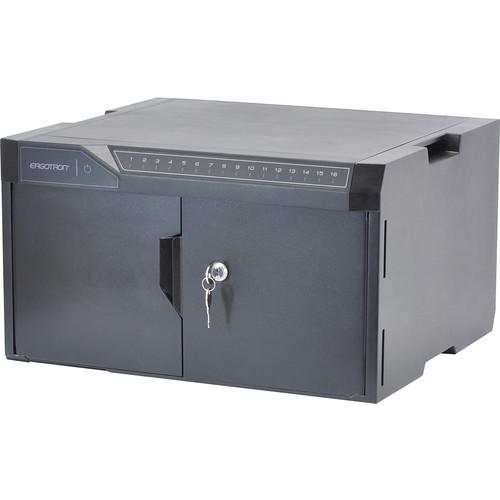 Ergotron Tablet Management Charging & Storage Cabinet (Black)