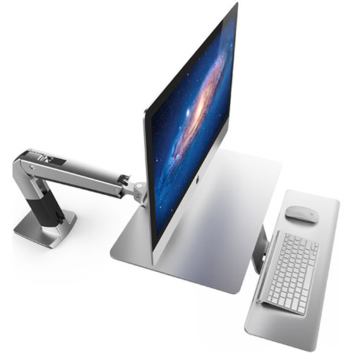 Ergotron WorkFit-A Sit-Stand Workstation for iMac (Silver)