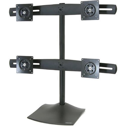 Ergotron DS100 Quad-Monitor Desk Stand (Black)