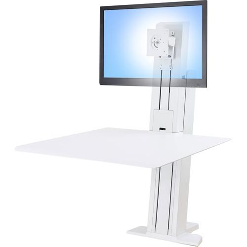 Ergotron Workfit-Sr, 1 Monitor, STANDING DESK WSWhite