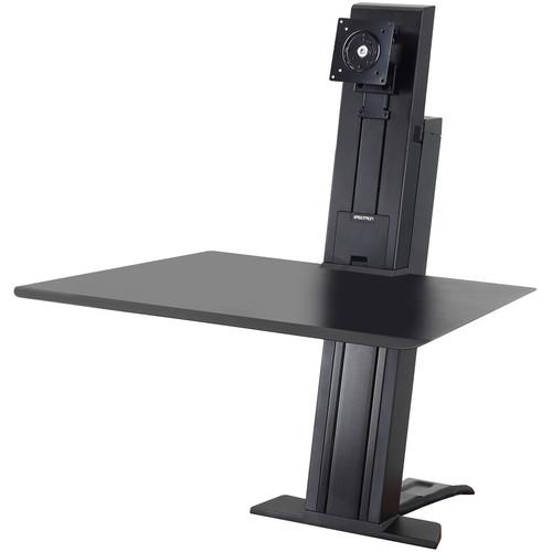 Ergotron WorkFit-SR Sit-Stand Desktop Workstation for Single Monitor (Black)